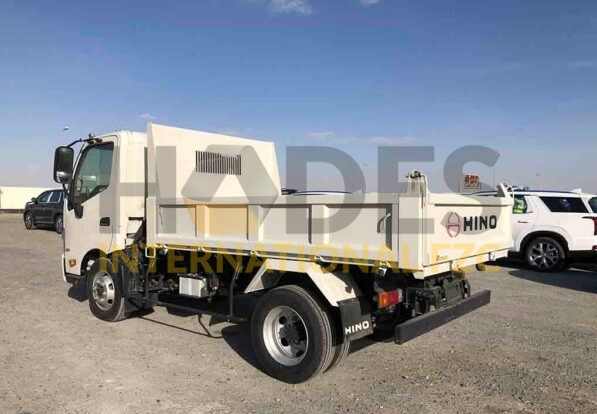 TOYOTA Hino 5,5 t. GVW 4×2 DUMP TRUCK 3.0 Ton Payload 2020 Model