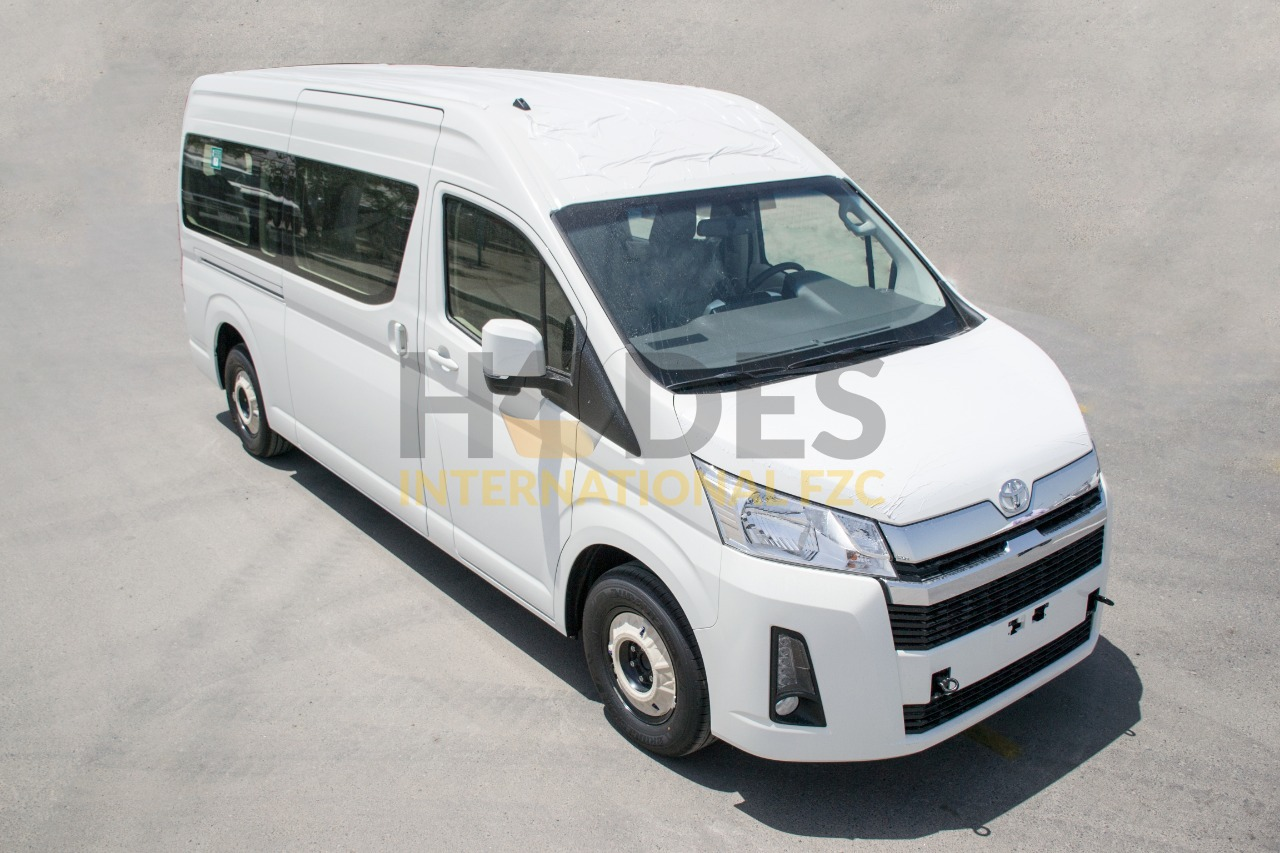 Toyota Hiace 2,8 Diesel, 13 seater GL – High Roof 2020