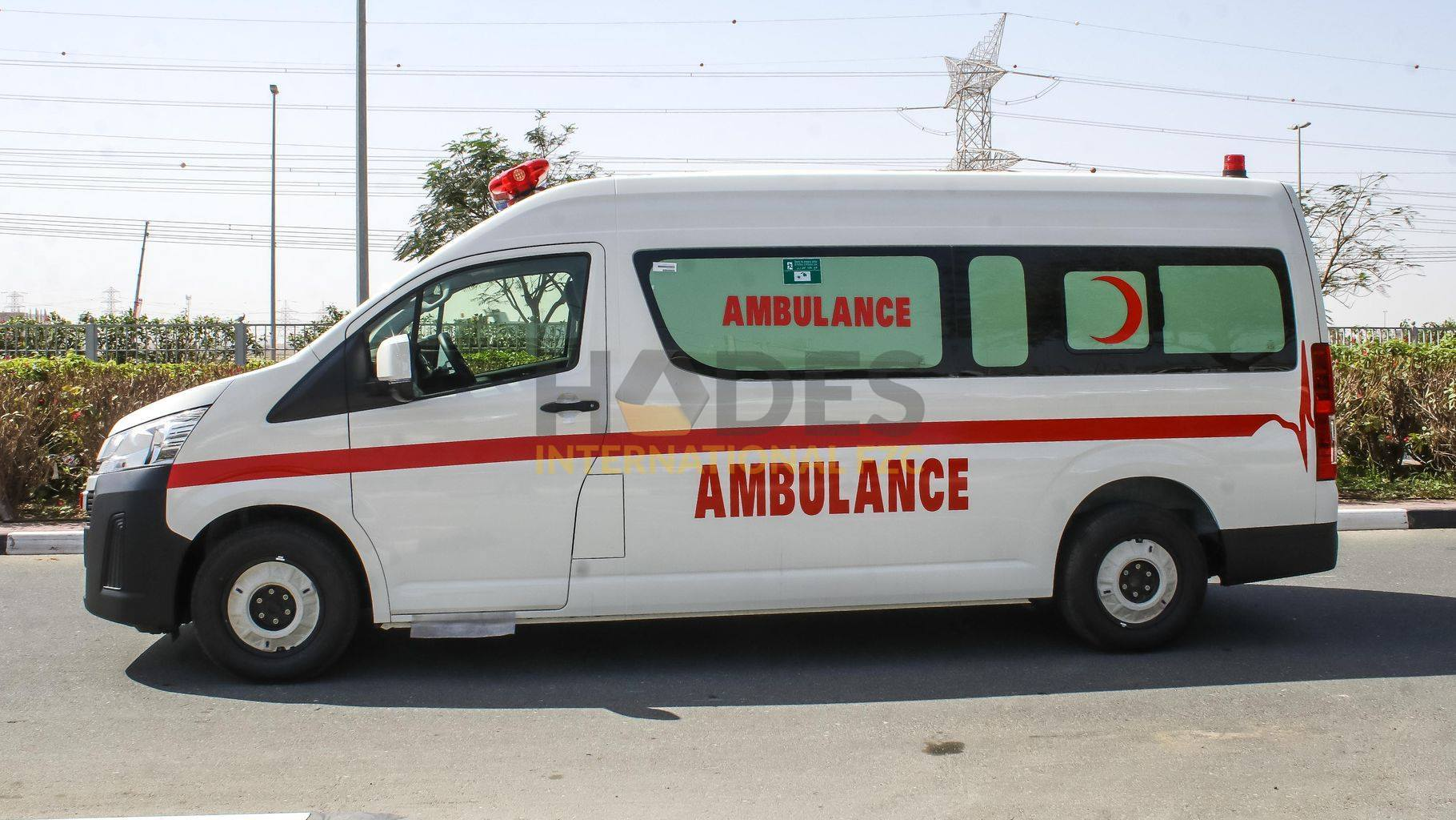 TOYOTA HIACE 3,5L PETROL AMBULANCE GL MT 2020 MODEL