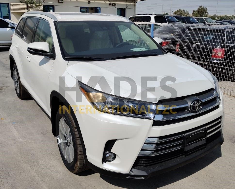 Toyota Highlander 3,5L V6 XLE (AWD) 4x4 Petrol Automatic 2020 model